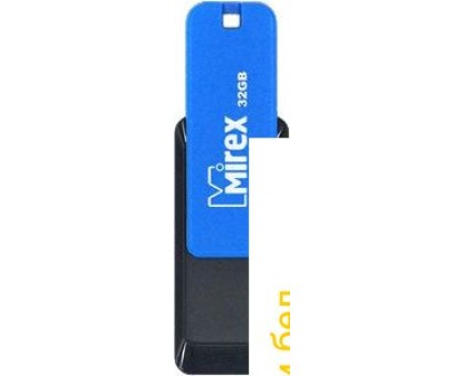 USB Flash Mirex Color Blade City 8GB (синий) [13600-FMUCIB08]