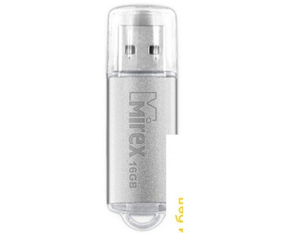 USB Flash Mirex Unit Silver 16GB [13600-FMUUSI16]