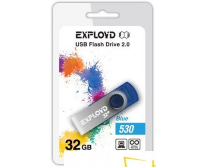 USB Flash Exployd 530 32GB (синий) [EX032GB530-Bl]