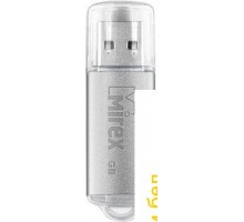 USB Flash Mirex Unit Silver 4GB [13600-FMUUSI04]