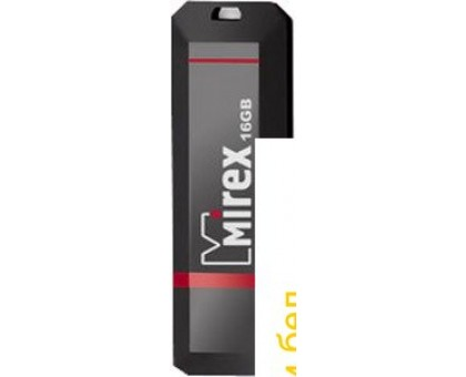 USB Flash Mirex KNIGHT BLACK 16GB (13600-FMUKNT16)