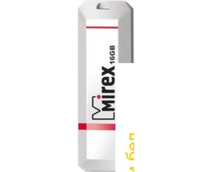 USB Flash Mirex KNIGHT WHITE 16GB (13600-FMUKWH16)