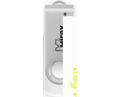 USB Flash Mirex SWIVEL WHITE 16GB (13600-FMUSWT16)