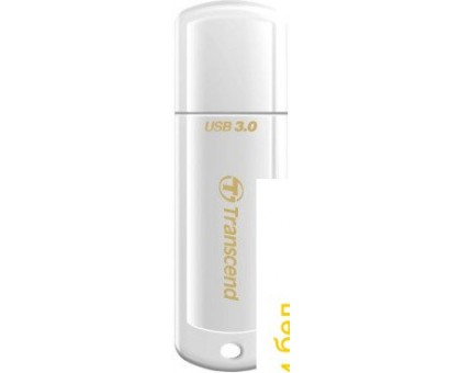 USB Flash Transcend JetFlash 730 128Gb White (TS128GJF730)
