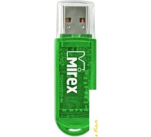 USB Flash Mirex Color Blade Elf Green 4GB [13600-FMUGRE04]